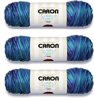 Bulk Buy: Caron Simply Soft Yarn Paints (3-Pack) Oceana C9700P-6