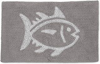 Southern Tide Home Skip Jack, Bath Rug, Grey
