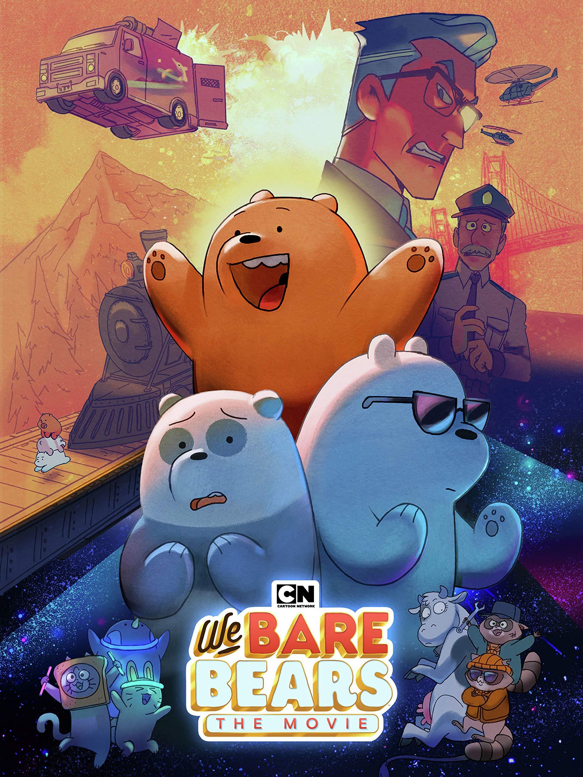 Cartoon Network We Bare Bears Movie Dvd Buy Online In Japan At Desertcart Jp Productid 222827074