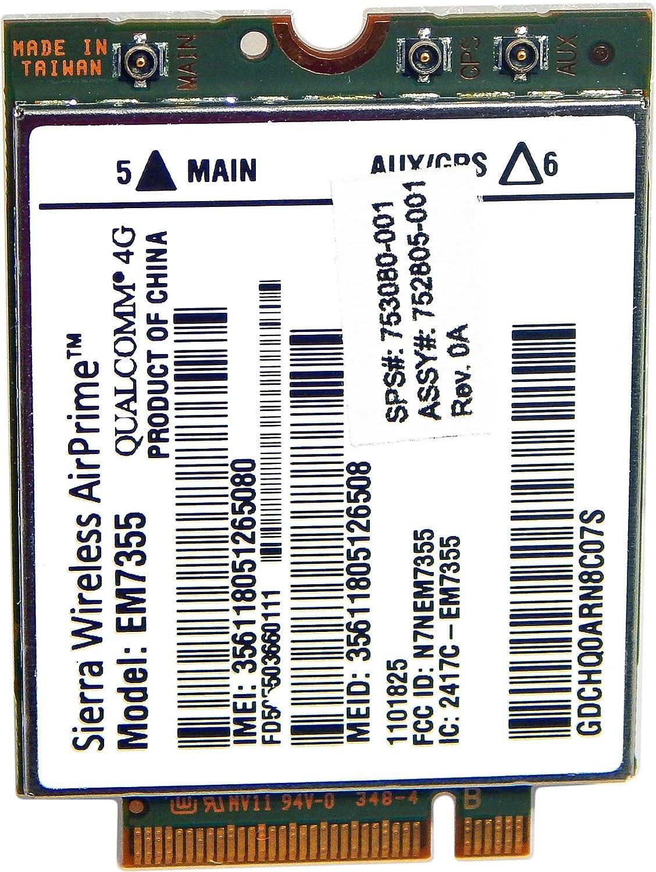 HP Sierra Wireless em7355?Qualcomm 4?G WWAN 753080?–?001