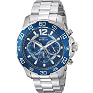 Invicta Men's Pro Diver Quartz Watch with Stainless-Steel Strap, Silver, 22 (Model: 22713)