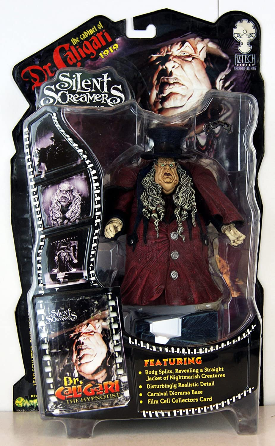 Silent Screamers  Series 1  The Cabinet of Dr.Caligari 1919  Dr.Caligari the Hypnotist  99004