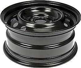 Dorman 939-102 Steel Wheel (16x7in ) for Select Nissan Models, Black