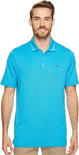 Vineyard Vines Golf - Tempo Solid Oxford Polo