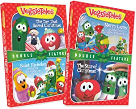 VeggieTales Christmas Pack Volume 1 (The Toy That Saved Christmas / Saint Nicholas A Story of Joyful Giving / Merry Larry and the True Light of Christmas / The Star of Christmas) (2-Pack)