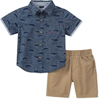 Nautica Baby Boys Shirt with Shorts