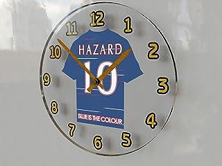 FanPlastic Eden Hazard 10 Chelsea FC - UEFA European Champions League Legend Wall Clock