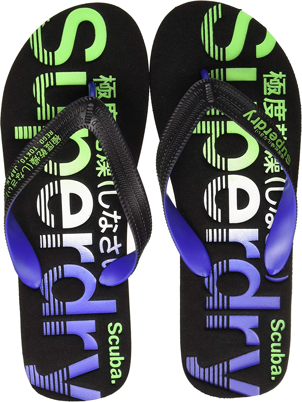 Superdry Zehentrenner Scuba Faded Logo Damen Surfen Schuhe
