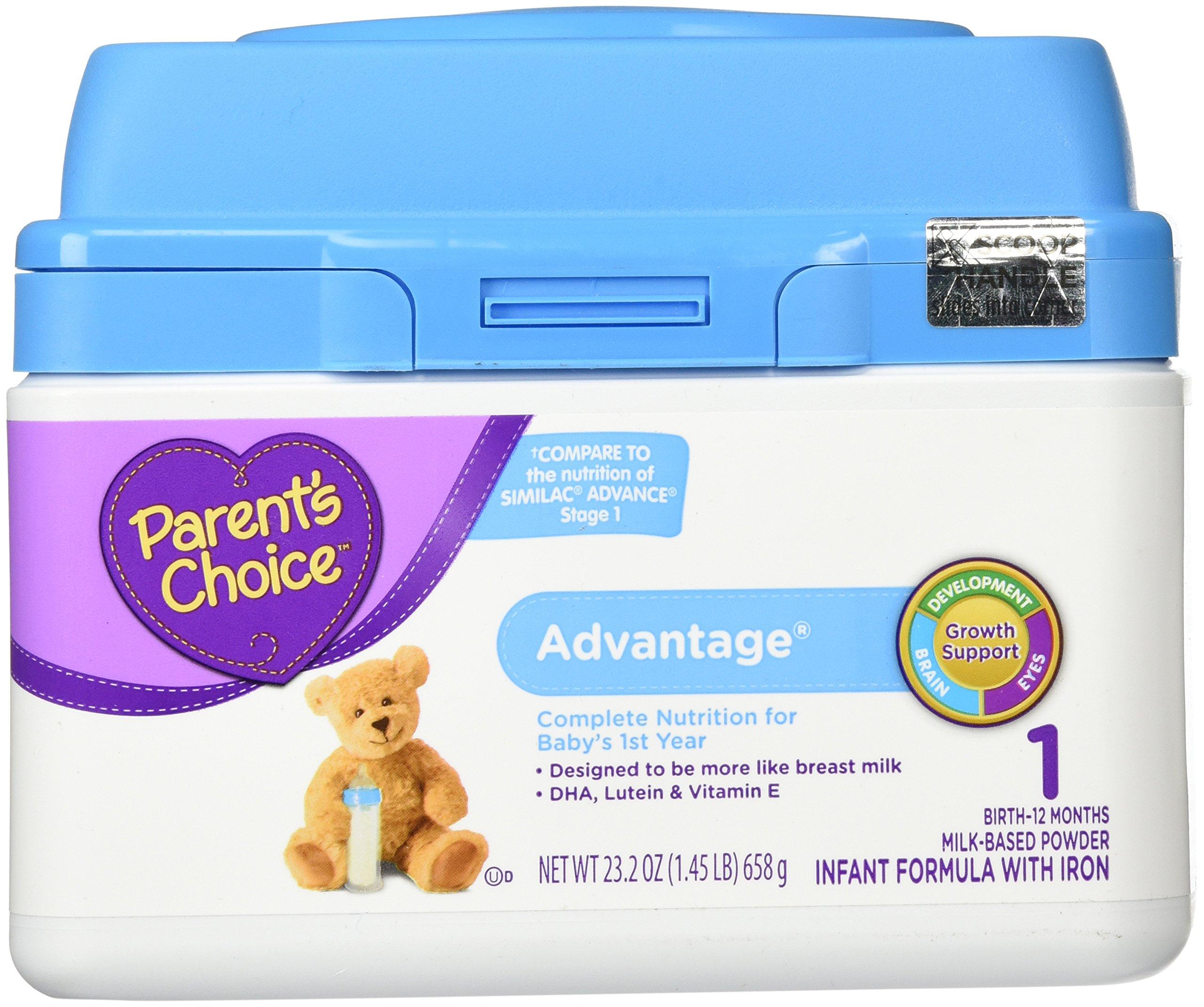 Parents Choice Infant Formula Advantage