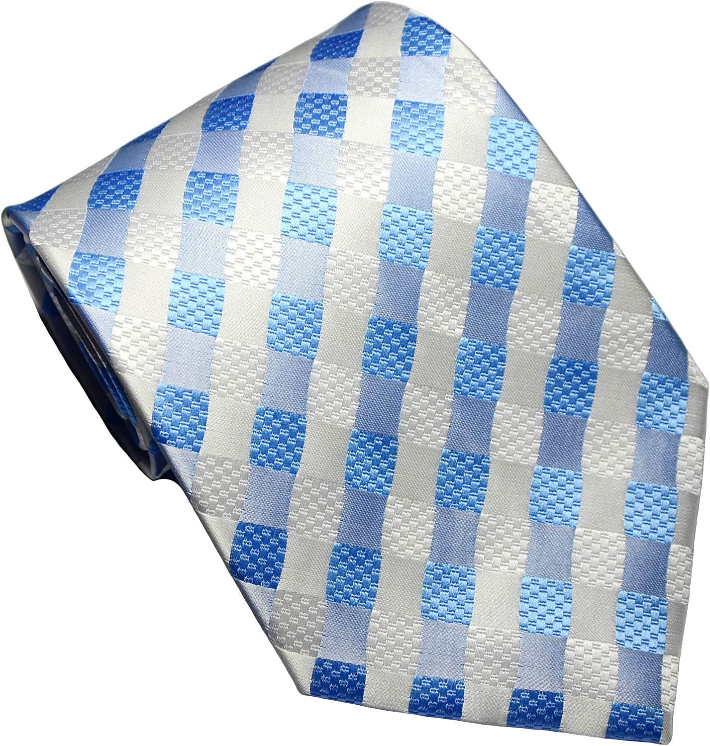 Today's only NEW EXT Collectino 100% Silk Classic Max 51% OFF Men's Tie Necktie Checks