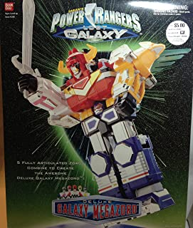 Power Rangers Lost Galaxy Deluxe Galaxy Megazord Action Figure
