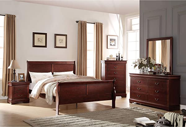 Acme Furniture Louis Philippe 23756 Chest Cherry One Size