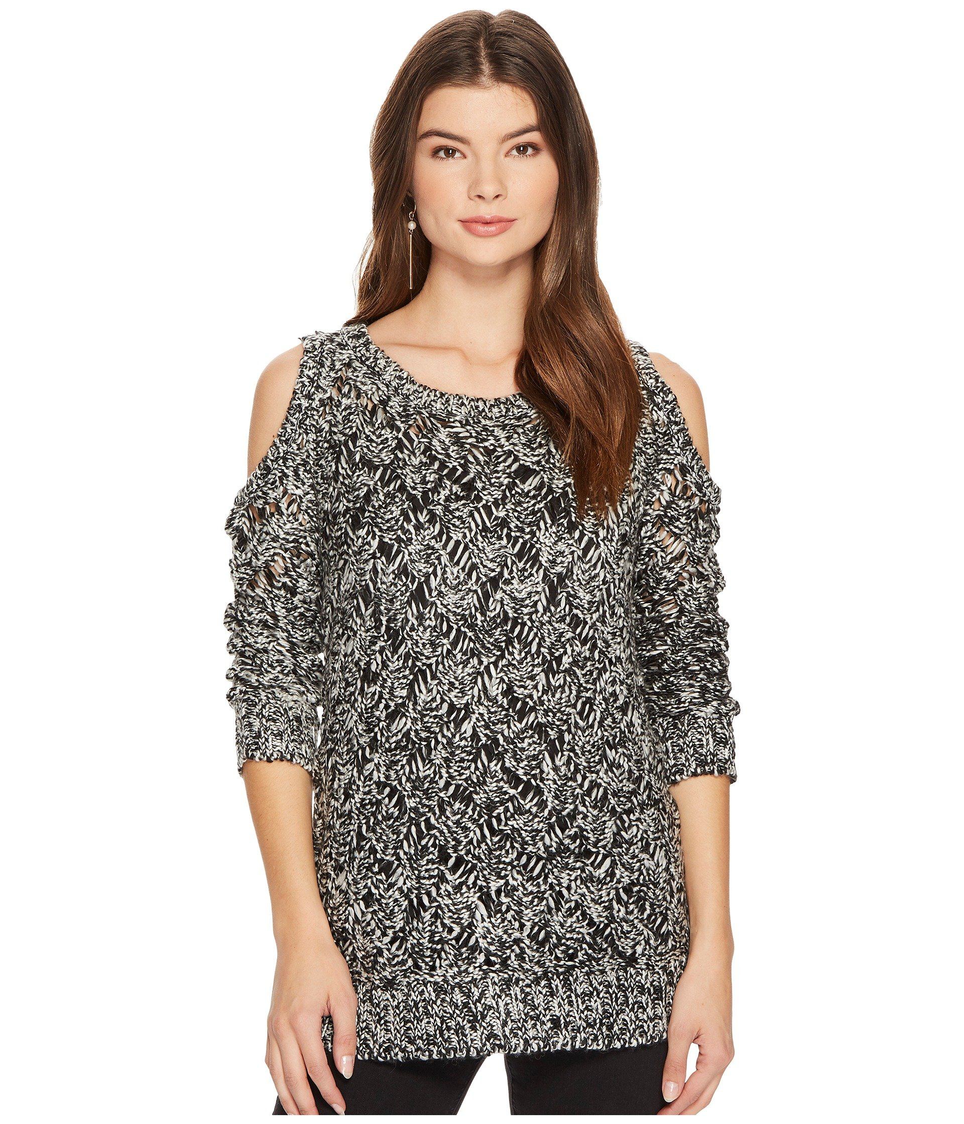 Bernette Cold Shoulder Sweater