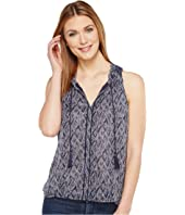 Lucky Brand - Scarf Tank Top
