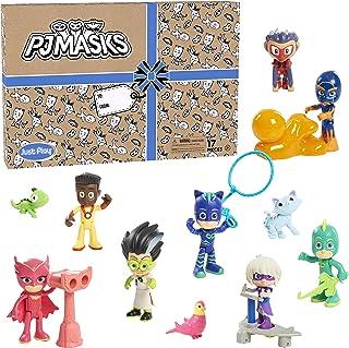 PJ Masks 24674 Deluxe Figure Set (Branded Mailer) Figures