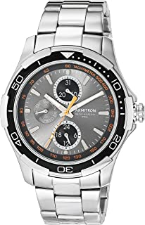 Armitron Men's Multi-Function Silver-Tone Bracelet Watch, 20/4677