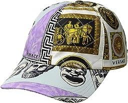 Roman Mask Print Cap