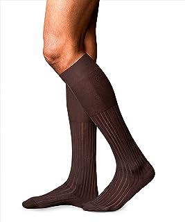 FALKE Socken No. 13 Baumwolle Herren schwarz blau viele weitere Farben verstärkte Herrensocken ohne Muster atmungsaktiv dünn und einfarbig mit hochwertigen Materialien 1 Paar