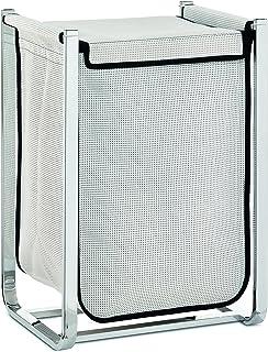 Kela 20045 Laundry Bin Lorin Collection, White