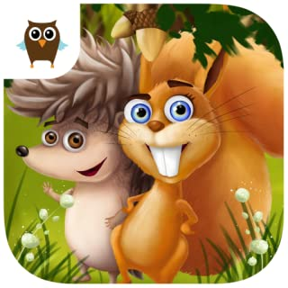 Forest Animals - Chores and Cleanup, Arts and Crafts, Cake Bakery, Movies and Fun Adventures in the Magical Tree World
