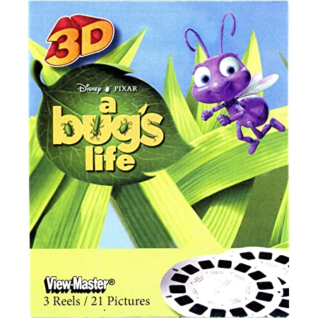 Bugs Bunny /& Tweety 3D ViewMaster 3 Reel Set
