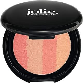 Jolie Color Lines Pressed Bronzing Powder 14g (Peach Lines)