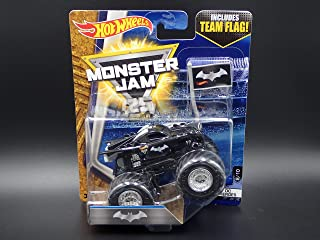 Monster Jam 2017 BATMAN 8/10 DC HEROES HOT WHEELS TRUCK CASE L (JUNE 2017 RELEASE)