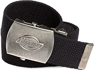 Dickies Men's Dickie's 1 3/16 in. Cotton Web Belt With Military Logo Buckle