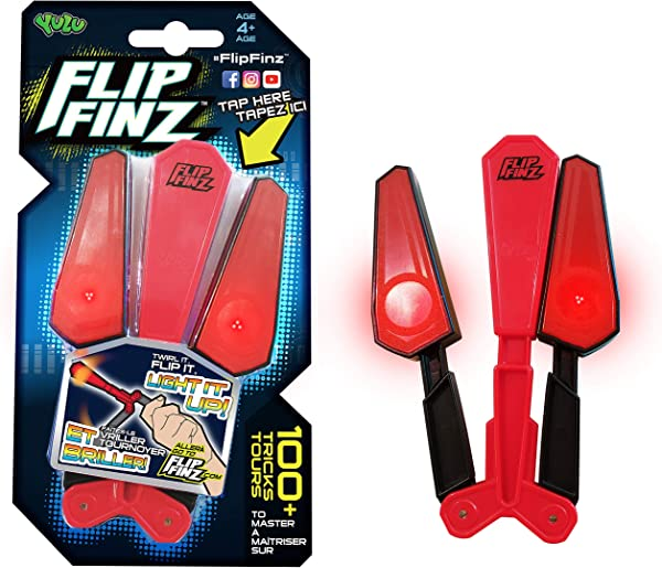 Helix YL1010A Flip Finz 2 Red Light Up