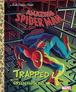 Trapped by the Green Goblin! (Little Golden Books)