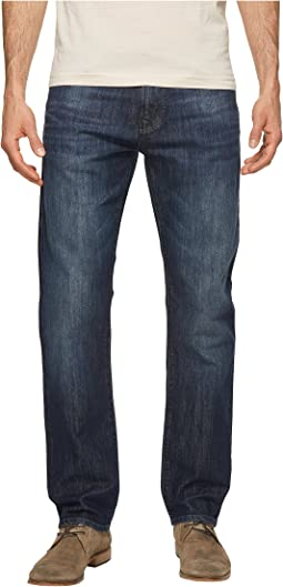 Mavi Jeans Zach Regular Rise Straight Leg in Deep Shaded New York