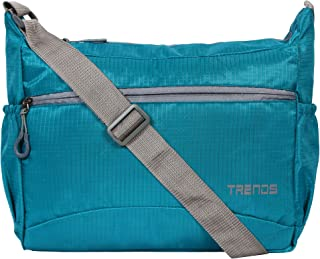 Trends Polyester Nylon Light Weight Unisex Sling Bag (Sea Green)