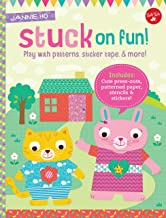 Stuck on Fun!: Play with patterns, sticker tape, and more! Includes: Cute press-outs, patterned paper, stencils & stickers...