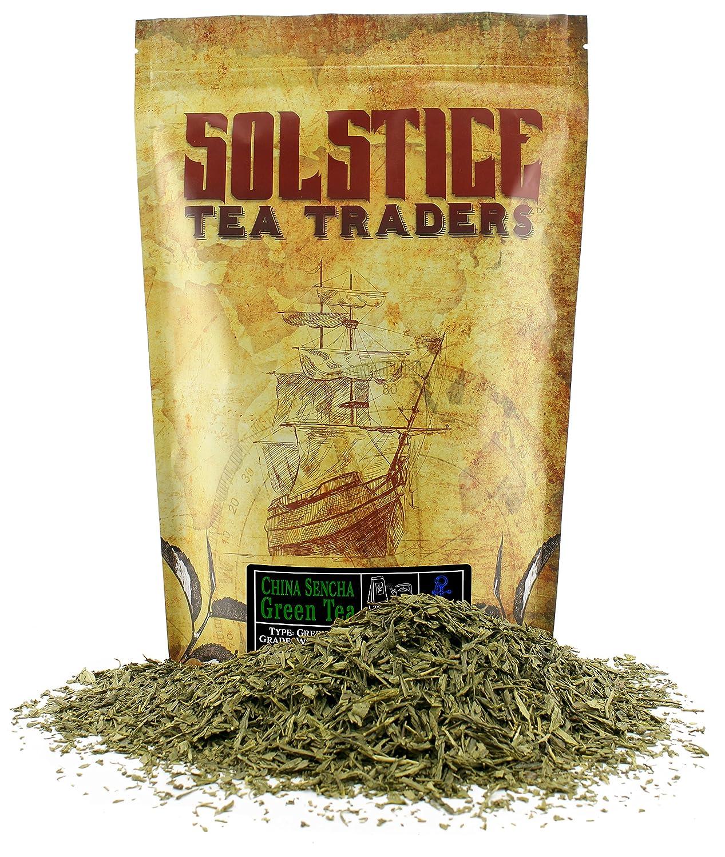 Popular products Solstice Loose Leaf Sencha Green Tea Colorado Springs Mall LB Japan 1 Bulk 16-Ounces