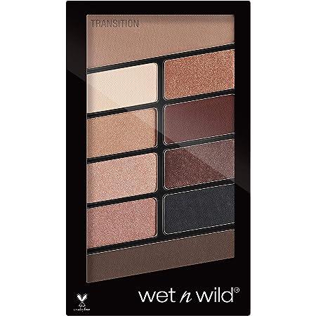 Wet n Wild - Color Icon 10 Pan Palette - Paleta de Sombras de Ojos - 10 Colores de Sombras Brillantes y Mates para el Día y la Noche, de Larga Duración y Fáciles de Mezclar - Nude Awakening