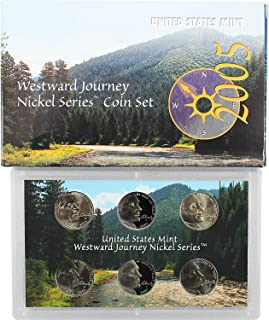 2004 westward journey nickel series coin set value