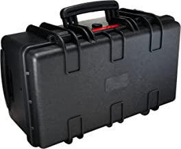 AmazonBasics Large Hard Rolling Camera Case - 22 x 14 x 9 Inches, Black