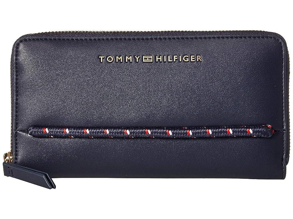 Tommy Hilfiger Devon Large Zip Wallet (Tommy Navy) Wallet Handbags