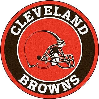 FANMATS 17681 NFL Cleveland Browns Roundel Mat