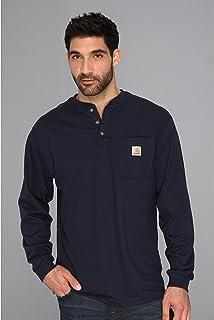 [カーハート] メンズ シャツ Big & Tall Workwear Pocket L/S Henley [並行輸入品]
