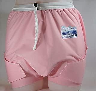 Sitz Bath Shorts - Women/Men - Wearable Soaking Garment; for Shower, On a Bath Chair, or on The Toilet. No tub or Awkward Bowl Required! (Women-Waist 38-45, Hips 42-46, Upper Thigh 30-35, Seaspray)