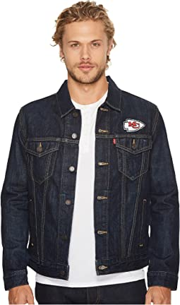 Chiefs Sports Denim Trucker
