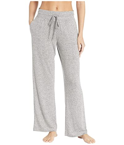 N by Natori Jersey Rib Pants (Heather Grey) Women