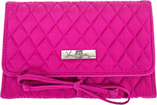 Vera Bradley All Wrapped Up Jewelry Roll - Magenta