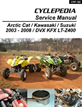 2003-2008 Suzuki LTZ400/Kawasaki KFX400/Arctic Cat DVX400 Service Manual