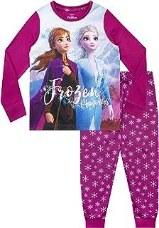 Disney Pigiama a Maniche Lunghe per Ragazze Frozen Il Regno di Ghiaccio