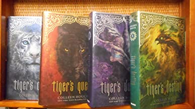 Tiger's Curse Series (Tiger's Curse, Quest, Voyage, Destiny) 4-volume set by Colleen Houck