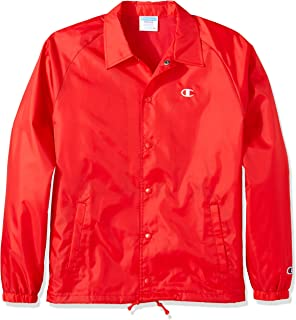 Champion LIFE Mens V0100 Life Coaches Jacket West Breaker Edition Warm Up or Track Jacket