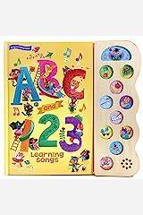 ABC and 123 Learning Songs (Early Bird Song Books) Gebundene Ausgabe
