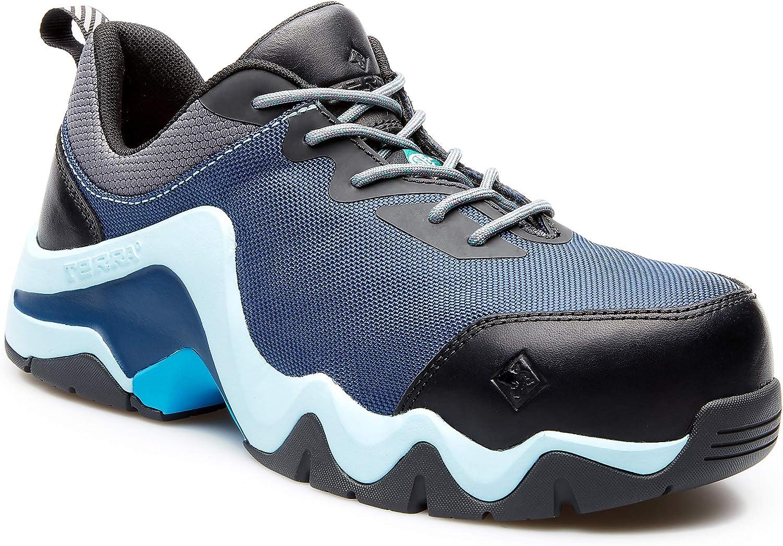Terra Womens EKG Low CTCP ESR Lace-Up Work Shoe